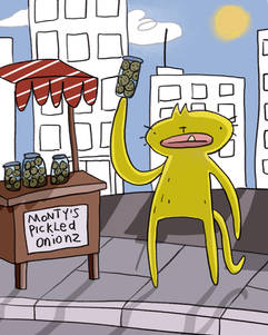 Monty's Pickled Onions