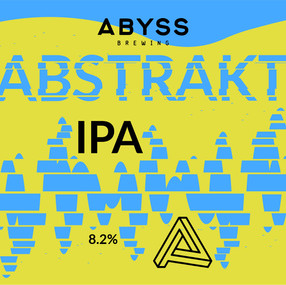 ABYSS BREWING IPA beer design