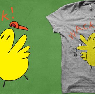Wack! shirt design