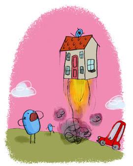 Houseplosion