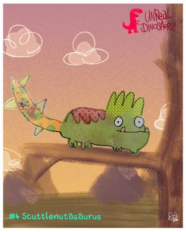 #4 Scuttlenutasaurus