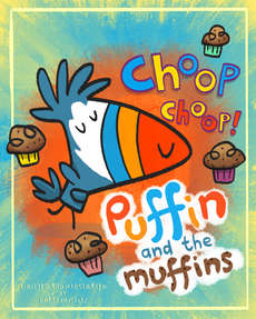 Puffin and the Muffins draft cover