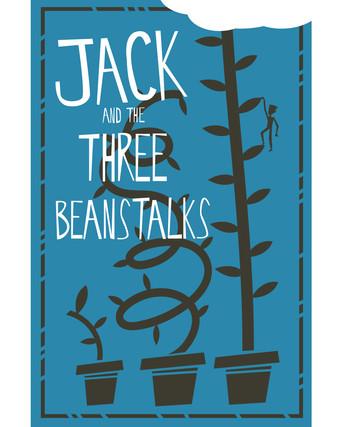 Jack and the Three Beanstalks book design