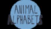 Animal Alphabets Button