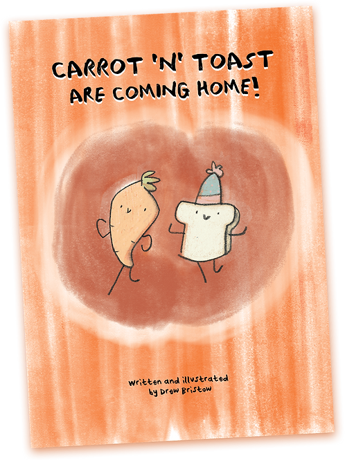 Carrot And Toast Are Coming Home (Digital Comic Download)