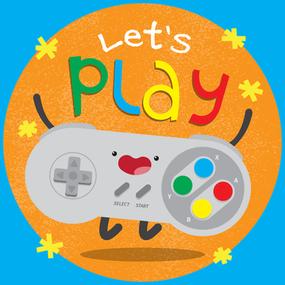 Let's Play! Shirt design