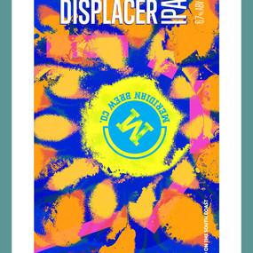 DISPLACER IPA - craft beer design