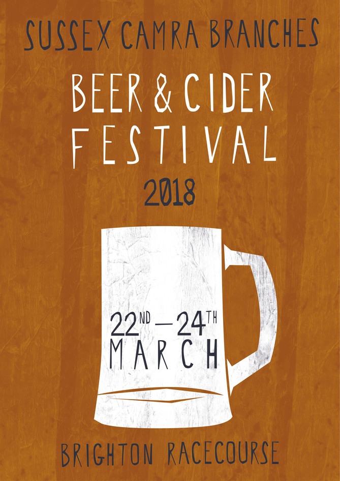 Brighton Beer Festival Poster