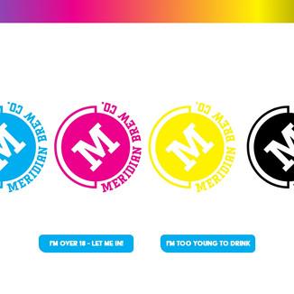 Meridian Brew Co. splash page