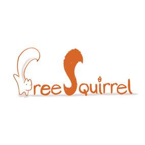 Free Squirrel organic feel  logo
