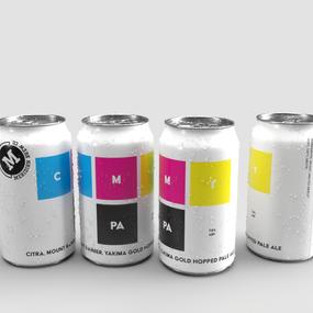 Meridian Brew Co. CMY PA beer design
