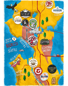 Seattle Beer Map