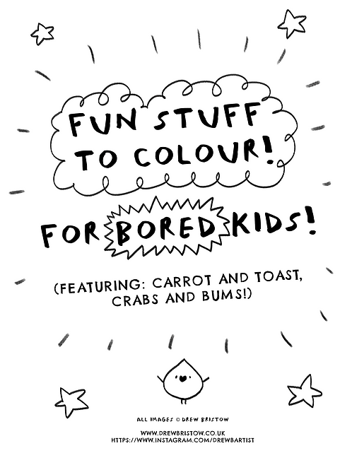 FREE COLOURING BOOK!