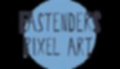 EastEnders Pixel Art Button