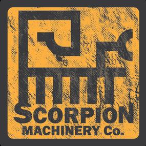 Scorpion Machinery Co. logo