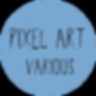 pixel art button