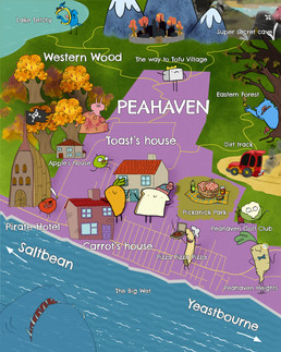 Map of Peahaven