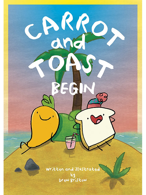 Carrot And Toast Begin - Comic