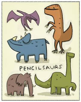 Pencilsaurs