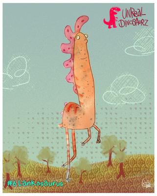 #6 Lankosaurus