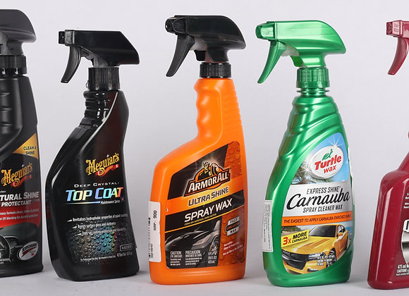 Car Care Spray Wax