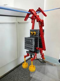 綱渡りロボット「ロボモンキー」