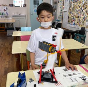 【6月】ミドル「扇風機ロボット」