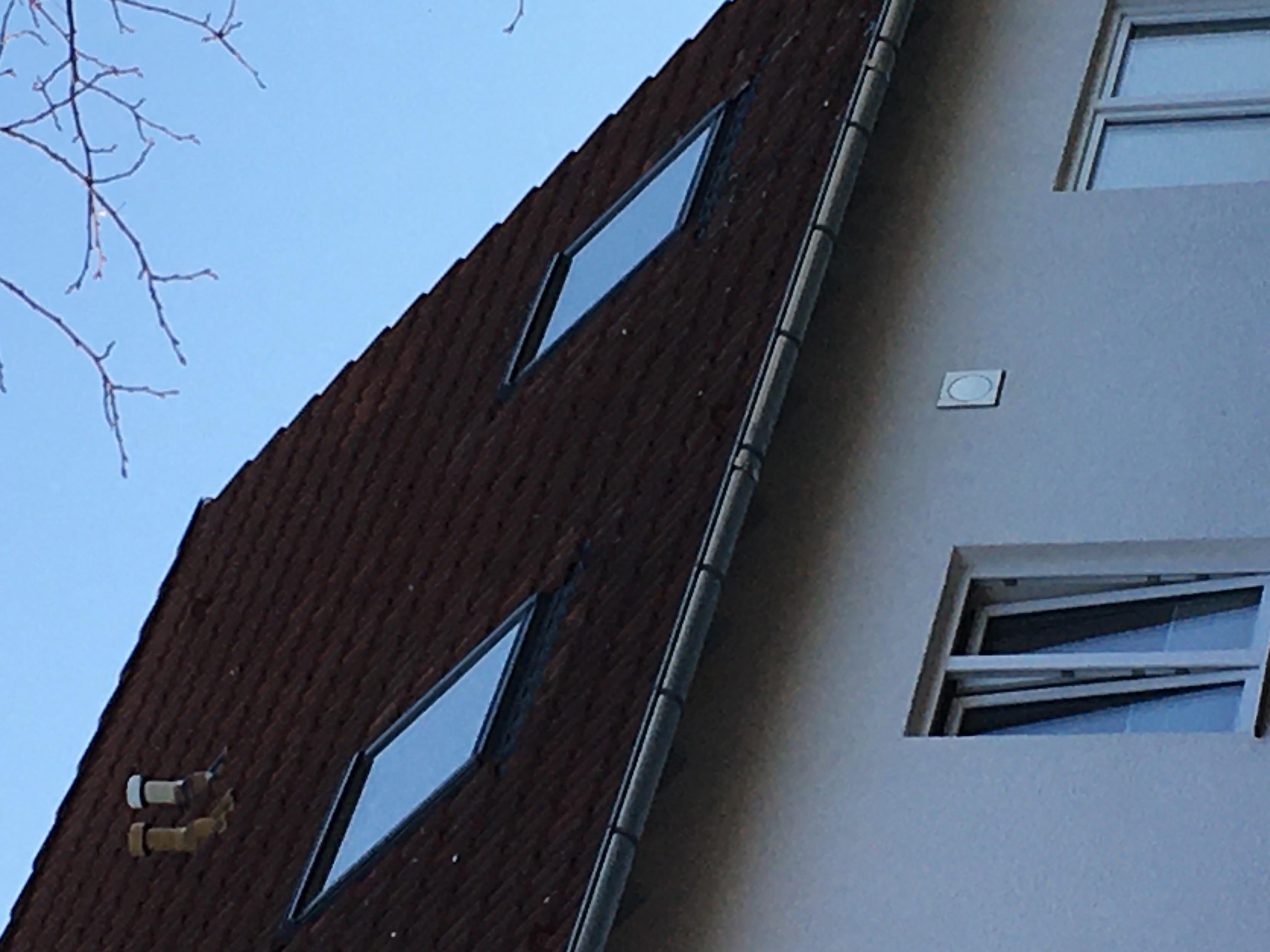 Veluxfenster mit Sparrenauswechselung
