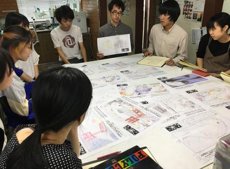 【芸大美大美術系高校受験科】キッズゲルニカの取り組み1