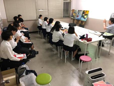 武蔵野美術大学説明会inアトリエぱお白島教室