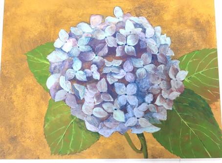 【芸大美大美術系高校受験科】日本画実習の取り組みその2