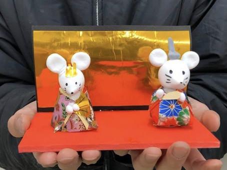 【宇品教室キッズ・ジュニア】「ひな人形」を制作vol.2