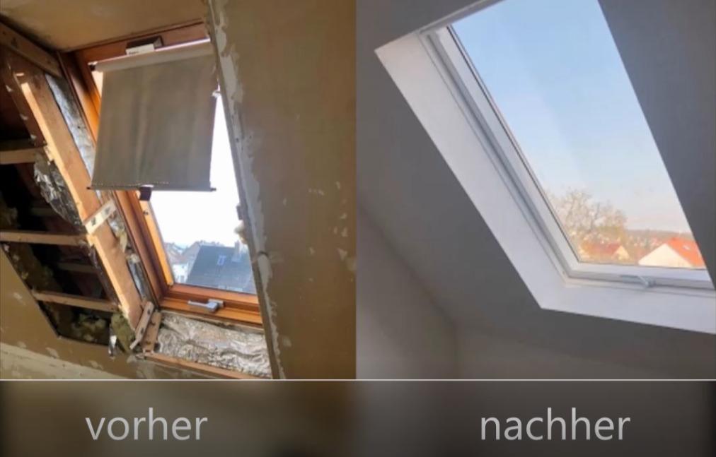 Dachfenstervergrößerung