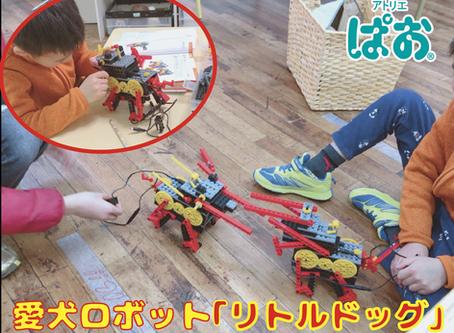 【ロボット教室】愛犬ロボット「リトルドッグ」
