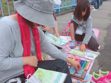 江田島で、スケッチを楽しみました