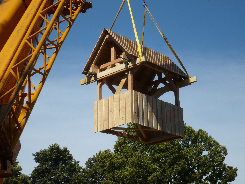 Treppenhaus Gradierwerk Bad Karlshafen