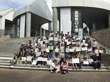 スケッチツアーCコース【現代美術館】レポート