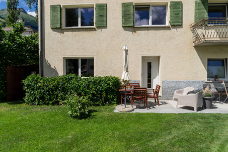 Wohnung und Garten