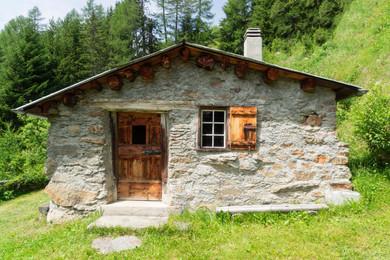 Aussenansicht Haus Küche/Bad