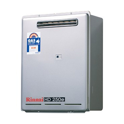 Rinnai HD250e Gas Geyser 3237L/m - LPG
