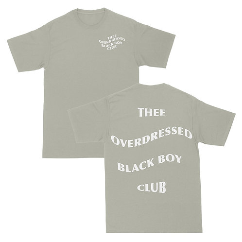 Thee Overdressed Black Boy Club Tee - Original