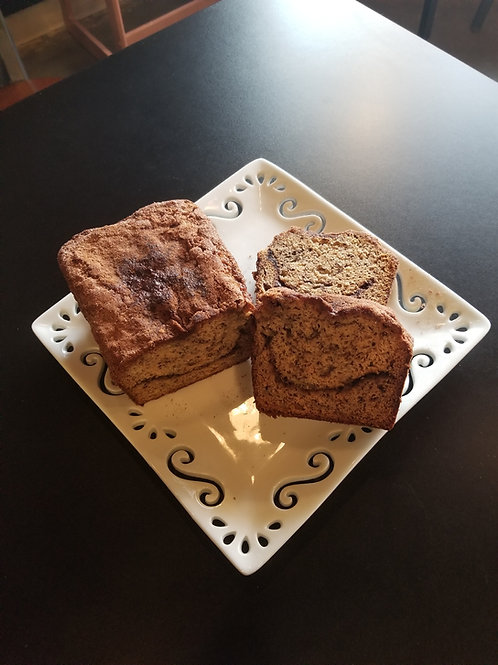 Banana Cinnamon Bread (Loaf)
