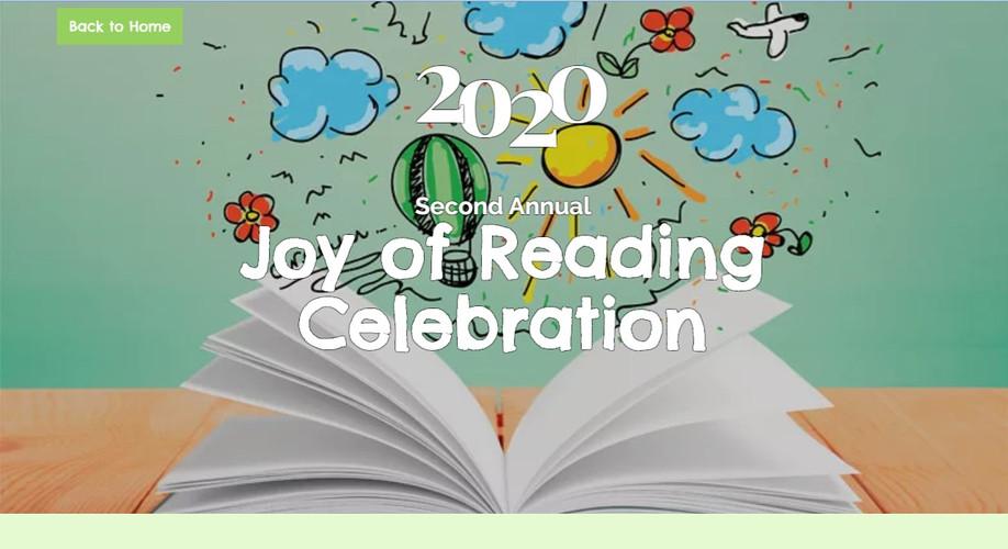 Joy of Reading Celebration (Youth Page)