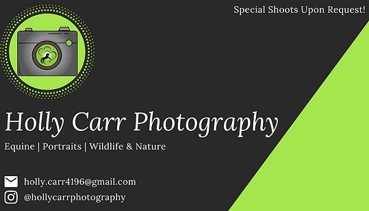 Holly Carr Business Card #2