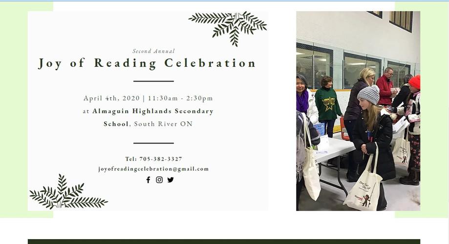 Joy of Reading Celebration (Contact)