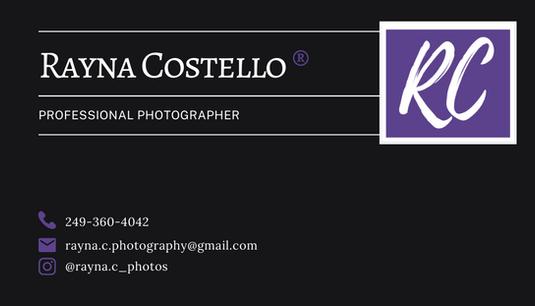 Rayna C Photography - Back