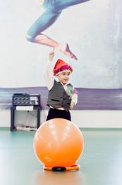 Детский новогодний танец