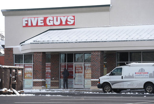 Five Guys opening expected in spring