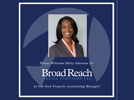 Broad Reach Retail Partners Welcomes Betty Adeoson To The Team