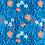 Thumbnail: Neck Warmers Red /Orange Flowery Pattern